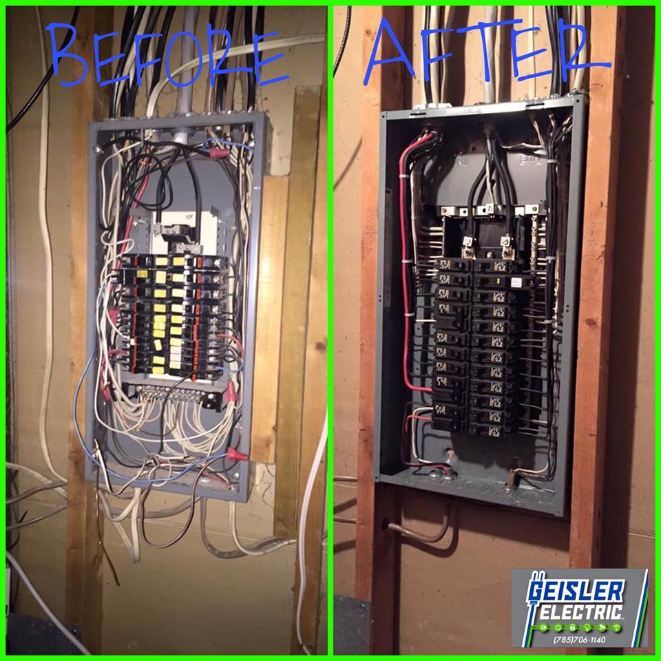 Residential Electrical Panel Replacement Geisler Electric Wiring A House Project Navigation