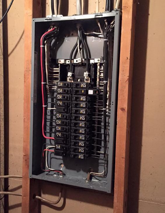 Residential Electrical Fuse Box : Electrical panel changeouts breaker box geisler electric